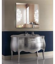 Зеркало для ванной с LED подсветкой София 40х40 см